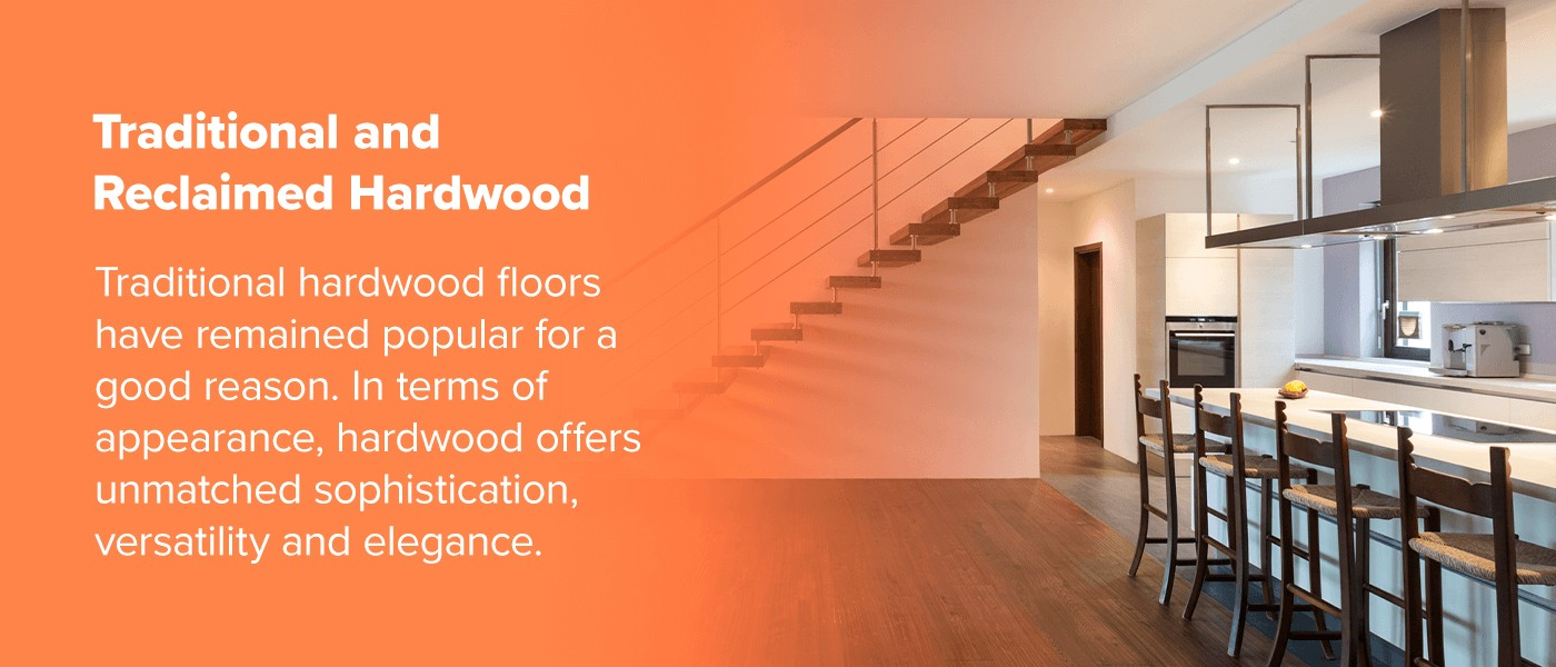 Traditional and Reclaimed Hardwood