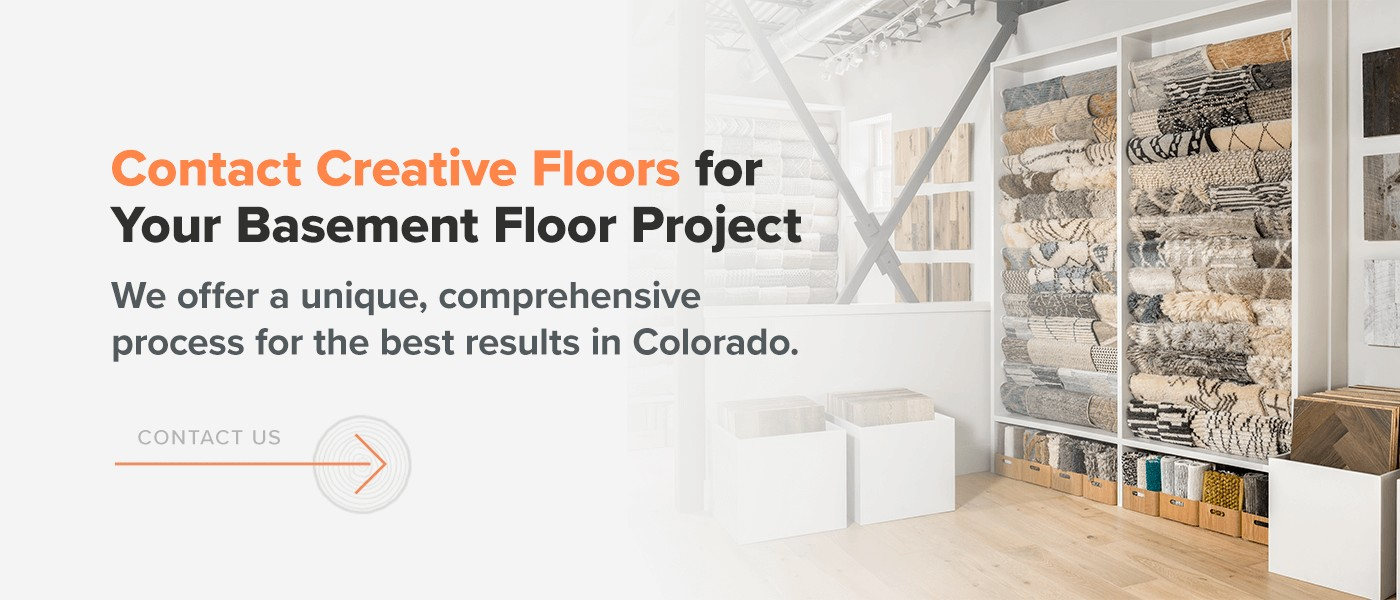 Contact Creative Floors for Your Basement Floor Project